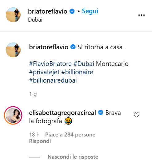 Elisabetta Gregoraci e Briatore tornano insieme da Dubai: è riesploso l'amore?